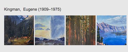 NPS-Online Exhibit-EugeneKingman-Artwork
