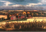 Davis Farm Scene, Autumn
